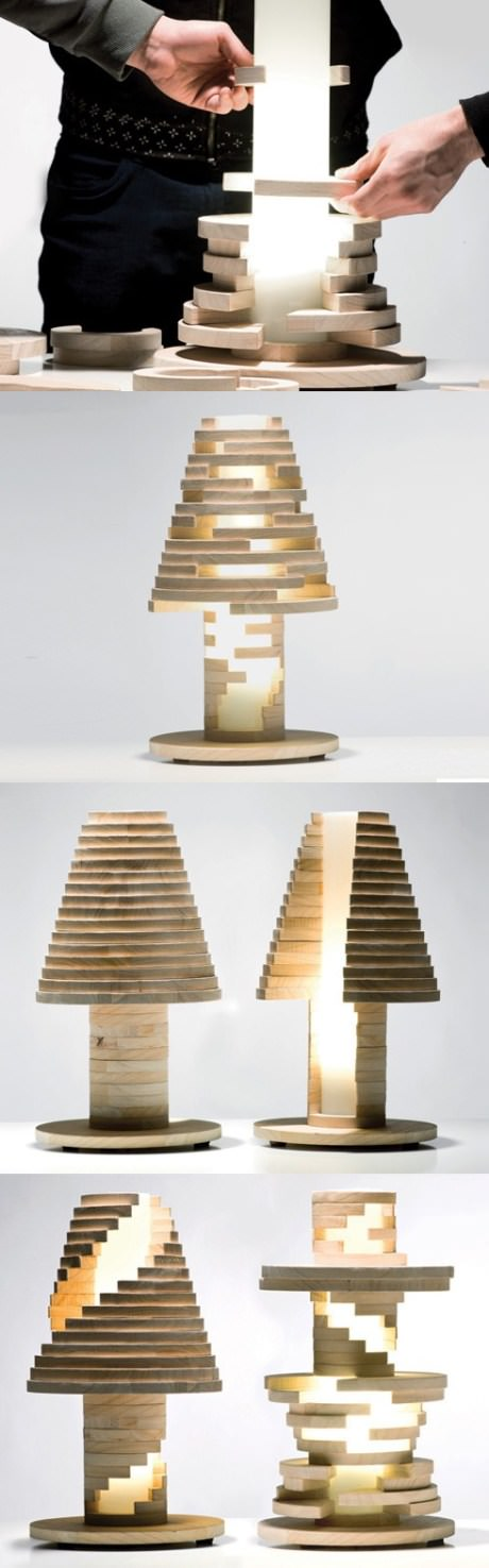 Creative table lamp design 3 1 creative spotting for Creative design table