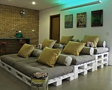 pallet-home-theater