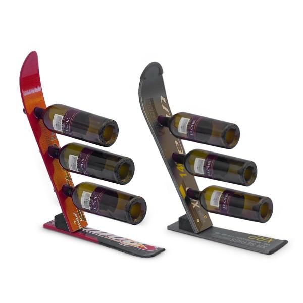 Diy Kayak Rack >> 12 Great Wine Racks Made from Old Skis | Creative Spotting