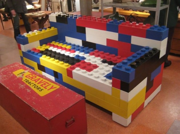 20 Cool Furniture Made Out Of Legos Creative Spotting