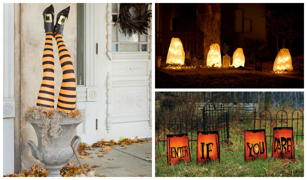 33 Spoooky Halloween Outdoor Decorations Creative Spotting