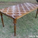 stenciled-farmhouse-table
