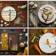 Food Art by Anna Keville Joyce & Agustín Nieto