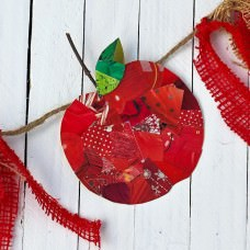 DIY: Recycled Apple Bunting