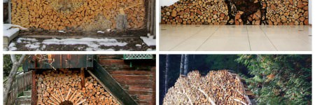 Log Piling Turned Into An Art Form