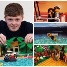 Stop-Motion Video of Famous Film Scene in LEGO!