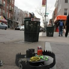 Hipster traps in the streets of NYC