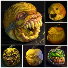 Amazing Scary Pumpkin Carvings by John Neill