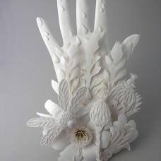 Paper Sculptures by Elsa Mora