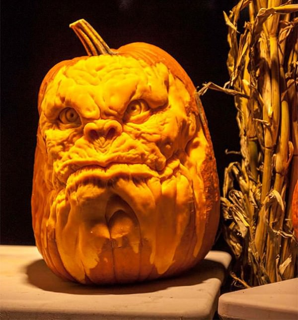 Amazing scary pumpkin carvings by john neill creative