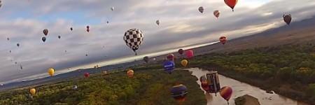 Timelapse of the 2014 Albuquerque Hot Air Balloon Fiesta