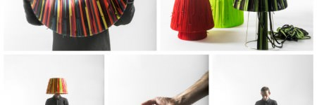 Shoelaces Lamps by Curro Claret