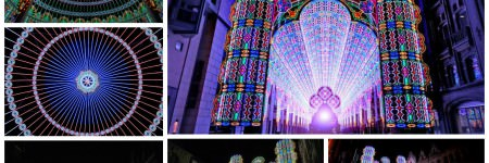 Amazing Cathedral Made from 55,000 LED Lights