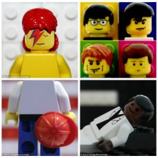 Legendary Album Covers Recreated in Lego by Aaron Savage