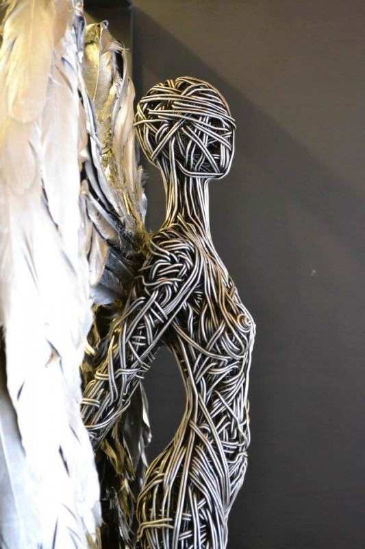 Wire Sculpture By Richard Stainthorp Creative Spotting