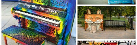Play Me, I'm Yours: Artists Beautify Outdoor Pianos Around the World to Bring Music to the Streets