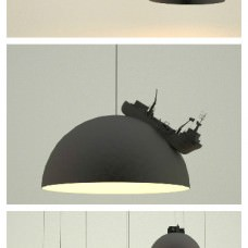 Land lamps by Leonardo Fortino
