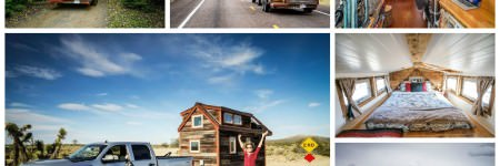 Couple Quit Their Jobs and Built a Tiny Mobile House to Travel Acrosss the Country