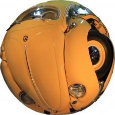 Amazing Beetle Sphere Sculpture by Ichwan Noor