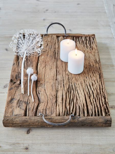 Rustic Reclaimed Wood Tray | Creative Spotting