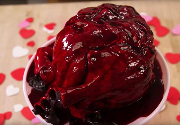 How To Make A Realistic Heart Cake