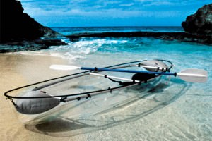 The Transparent Canoe Kayak Offers Incredible Views of the Ocean Below