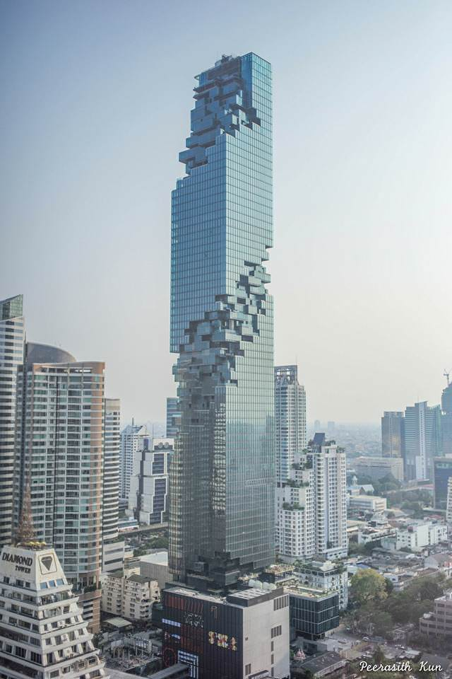 London City Chrysler >> Mahanakhon, the New Art Design Skyscraper of Bangkok | Creative Spotting