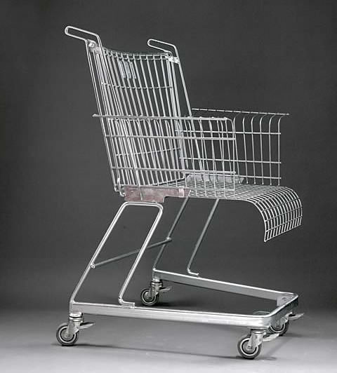 Frank Schreiner's Shopping Cart Chair Design
