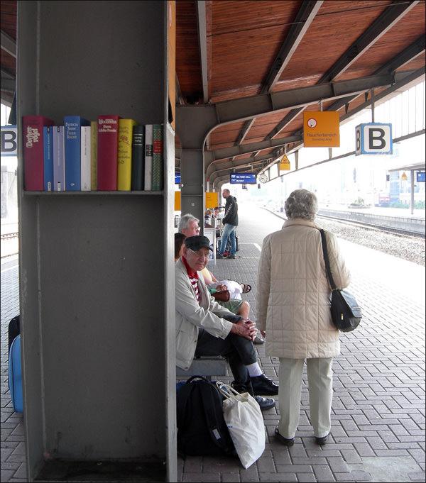 Train Platform Library In Dortmund Germany Gift Ideas