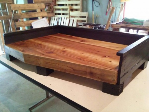 15 Super Cute Wood Pallet Dog Beds Gift Ideas Creative