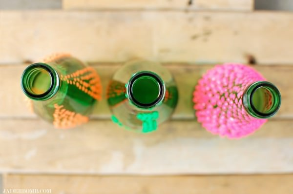 Diy: Puffy Paint Vases DIY + Crafts