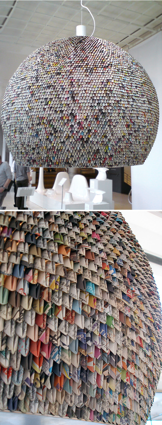 Paper Lamp at The Conran Shop (London) Design