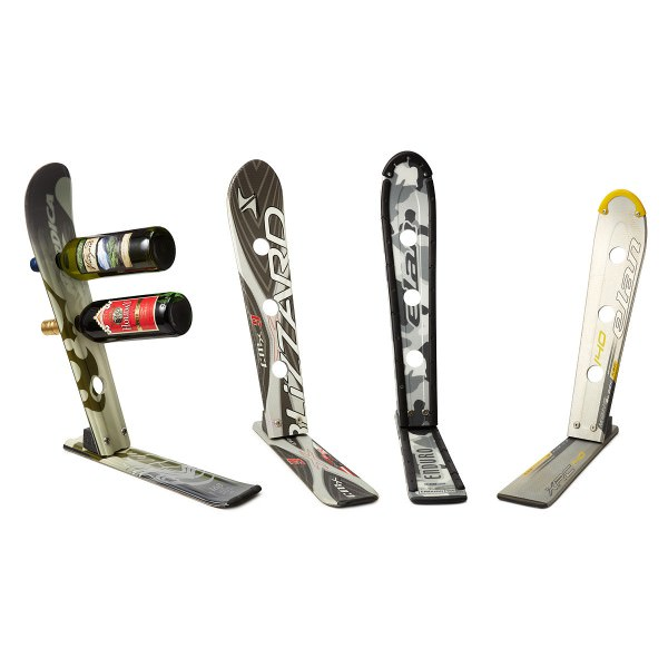 12 Great Wine Racks Made From Old Skis Gift Ideas
