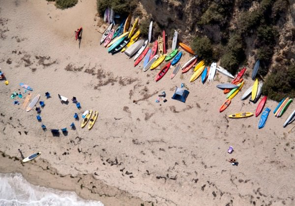 A La Plage, a La Piscine: Aerial Beach Bum Photographs by Gray Malin Photography