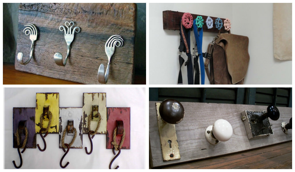Diy Coat Hanger Hooks