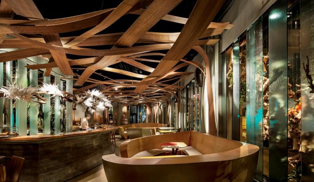 Ikibana Paral Restaurant By El Equipo Creativo Gift