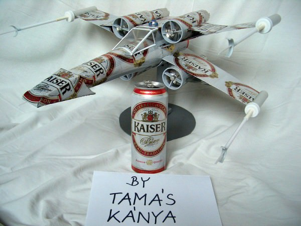 Star Wars Beer Can Plane Geek Universe