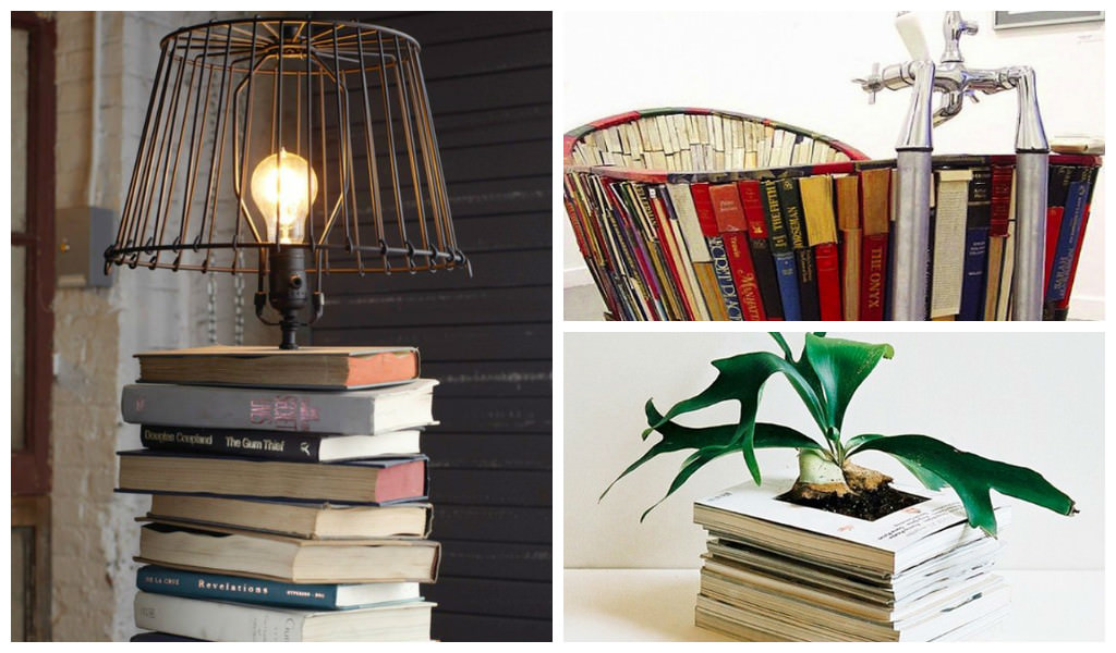 20 Repurposed DIY Vintage Books Ideas | Gift Ideas ...
