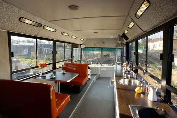 Bus Transformed Into Luxury Home Architecture + Interiors