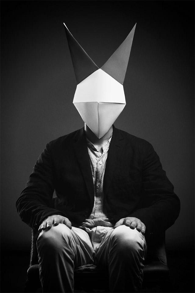 Origami Maske