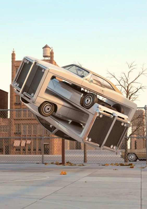 Auto Aerobics by Chris Labrooy Art + Graphics Photography