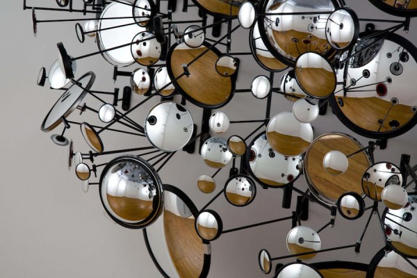 Mirror Sculptures by Graham Caldwell Art + Graphics