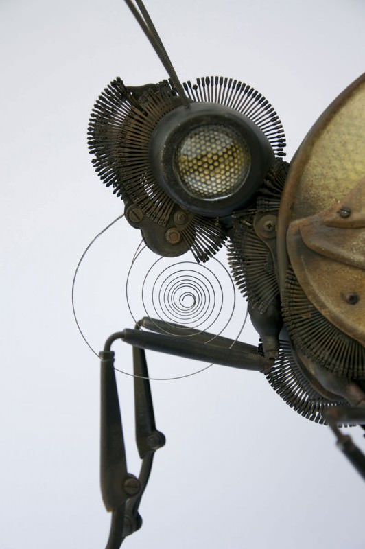 Intricate Animals Made from Scrap Metal and Old Auto Parts Art + Graphics Bike