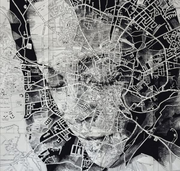 Maps Portraits by Ed Fairburn Art + Graphics