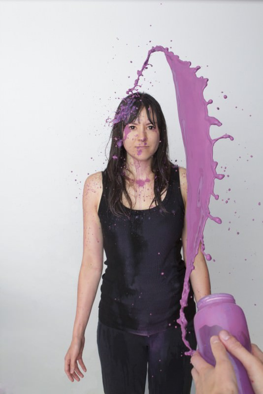 Spilt Milk by Ana Coto Art + Graphics