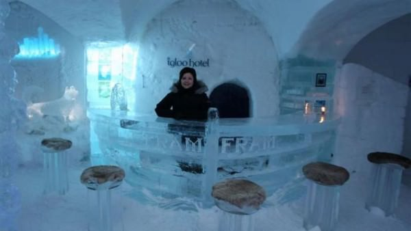 The Elegant Sorrisniva Igloo Hotel Architecture + Interiors