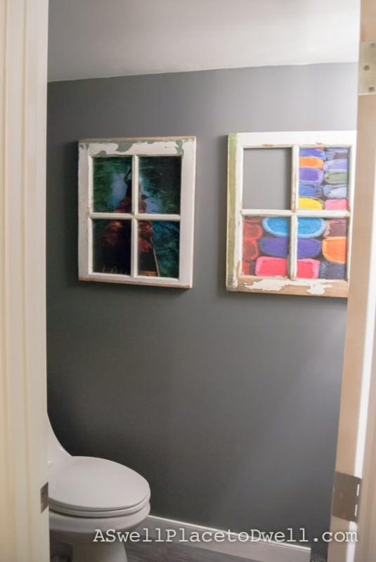 Window Wall Art Architecture + Interiors DIY + Crafts
