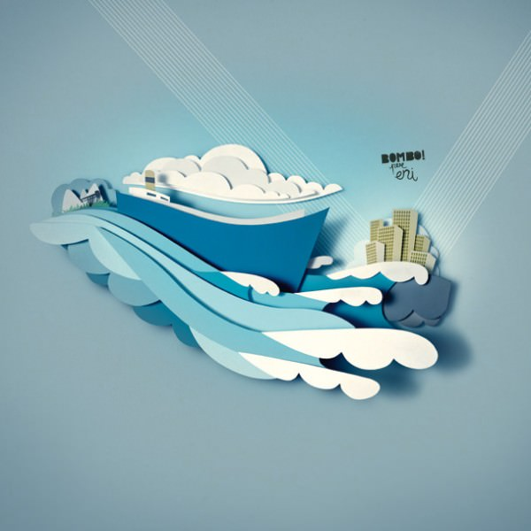 Paper Illustrations Art + Graphics