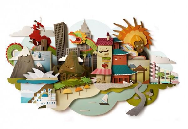 Paper Illustrations Art + Graphics