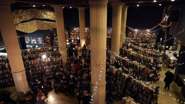 The Last Bookstore Architecture + Interiors